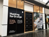 Hunting For George pop-up store at Highpoint Shopping Centre